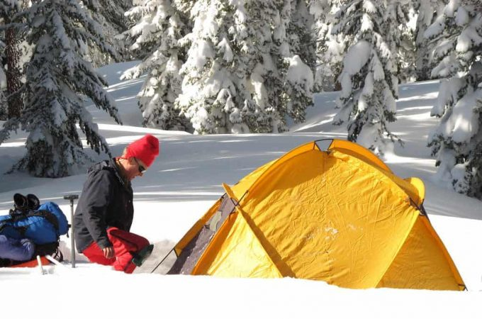 Winter Camping Tents : Cold weather camping tips how to stay safe and warm at