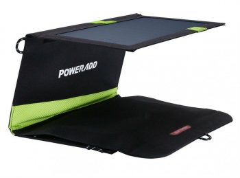 PowerAdd 20W Dual USB Port Solar Charger