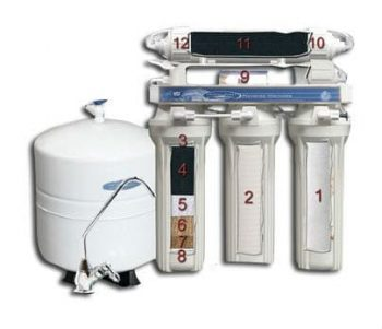 Crystal Quest Reverse Osmosis Water Filter System