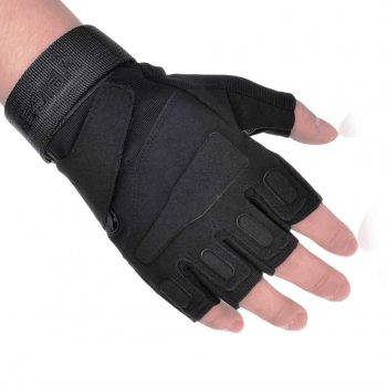 Vbiger Military Tactical Gloves Half Finger Fingerless Gloves