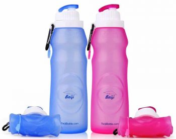 Baiji Bottle Collapsible Silicone Water Bottles