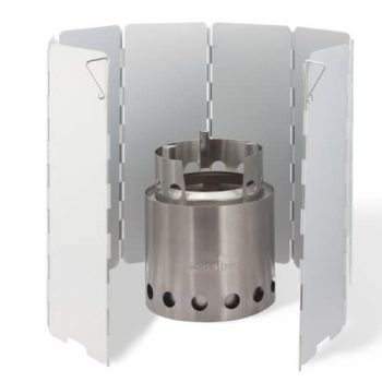 Solo Stove With Windscreen Alcohol Stove