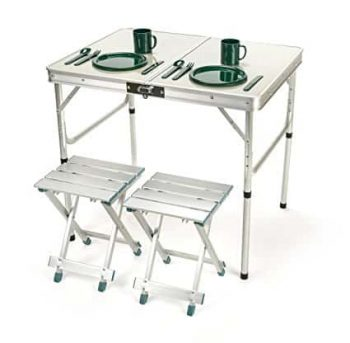 Aluminum Lightweight Folding Camp Table