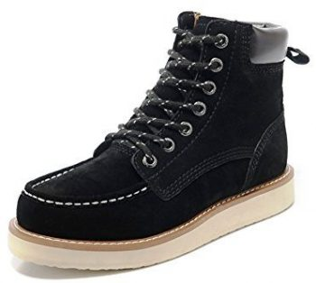 Box Leather Snow Boots