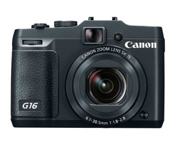 Canon PowerShot G16 12.1 MP CMOS Digital Camera