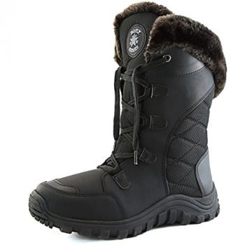 DailyShoes Women's Comfort Snow Boots
