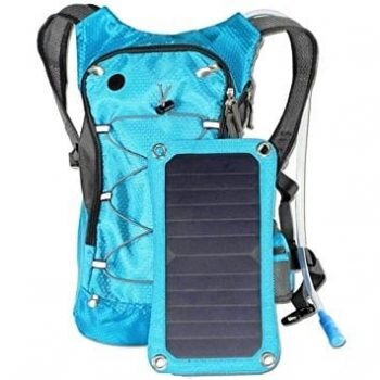 AMTOP Solar Charger Hydration Backpack