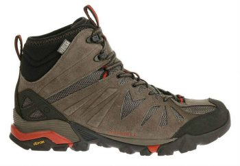 Merrell Men's Capra Mid Waterproof Hiking Boot