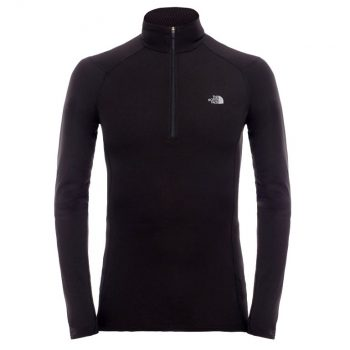 North Face Warm L S Zip Neck Base Layer Top