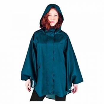 November Rain Waterproof Poncho - Rain Jacket with Hood