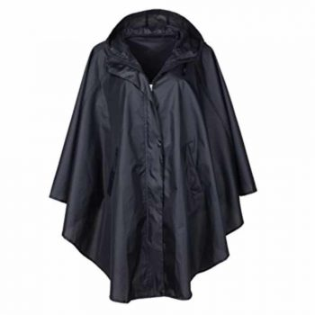QZUnique Women's Packable Rain Jacket