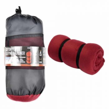 SE BI7566 Red Winter Sleeping Bag Liner