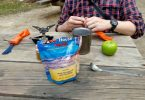 Backpacking lunch