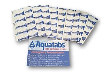 Aquatabs Water Purification Tablets 100pack