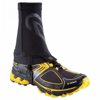 DECATHLON KALENJI TRAIL RUNNING GAITER BLACK