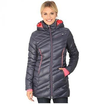 Spyder Women's Timeless Hooded Long Jacket