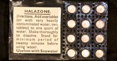 Purification tablets