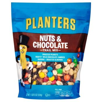Planters Trail Mix, Nuts & Chocolate