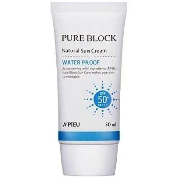 A'pieu Pure Block Sun Cream (Waterproof Sun Cream)