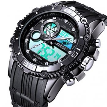 BINZI Big Face Sports Watch