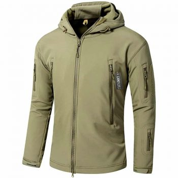 Camo Coll Soft Shell Tactical Jacket
