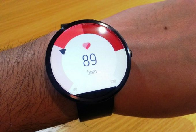 Person With Heart Rate Watch