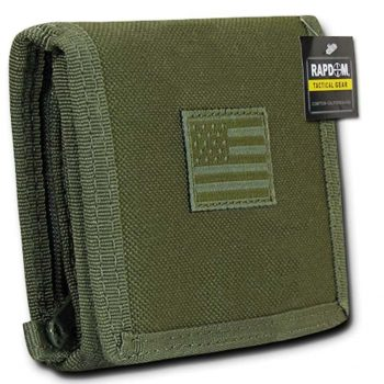 Rapdom US American Flag Tactical Wallet