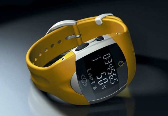 Watch With Heart Display