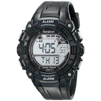 Armitron 408209BLK Digital Watch