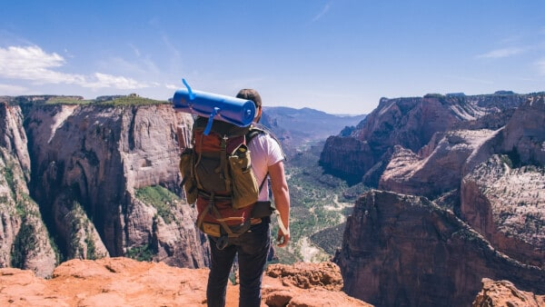 Backpacking photography