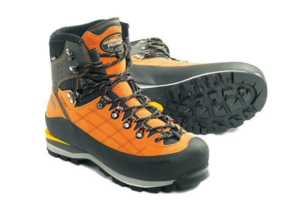 Bright hiking boot