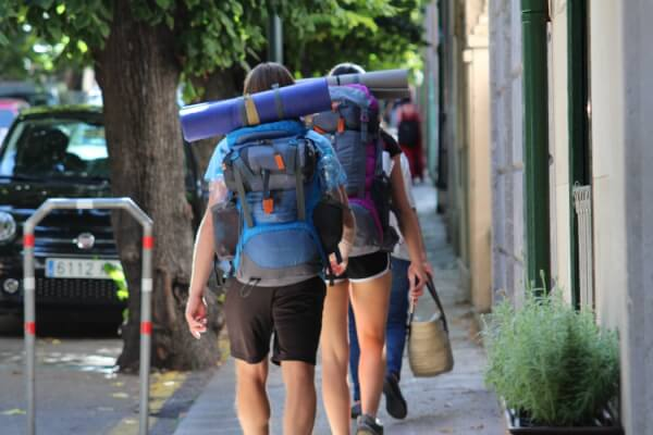 people-are-hiking-with-backpacks